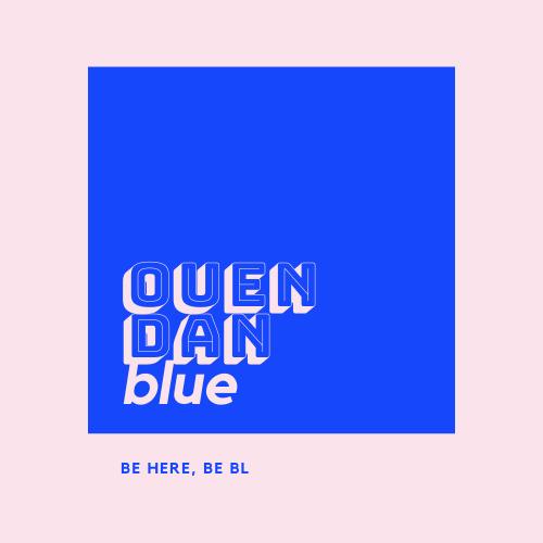 Ouendan Blue's logo